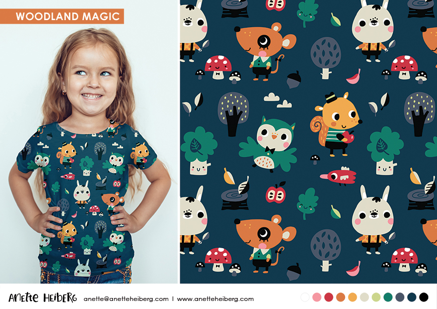 Pattern: Woodland Magic