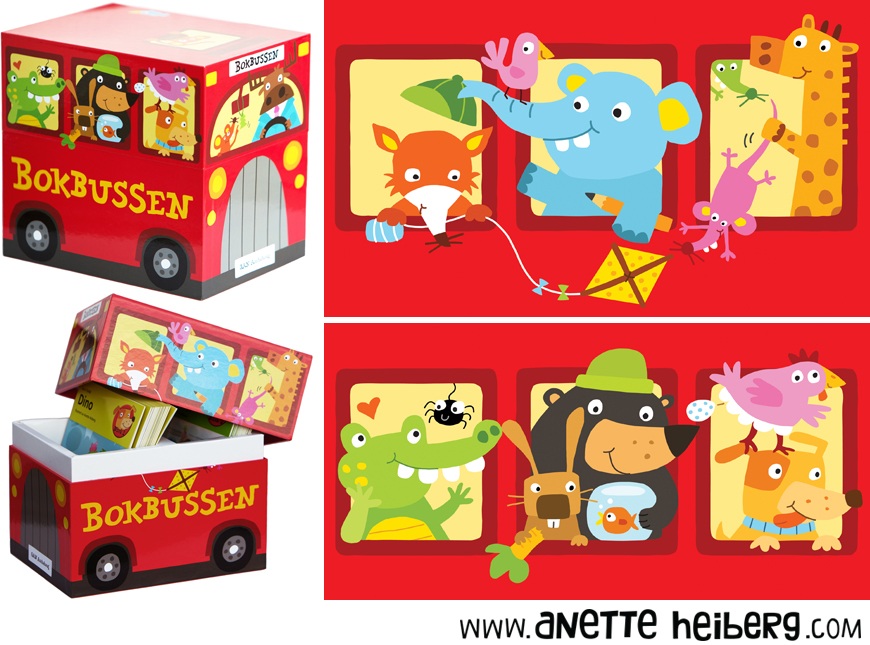Bokbussen (The book bus)